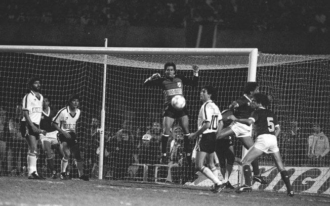 A Inter de Limeira passou pelo Palmeiras em dois jogos no Morumbi em 1986