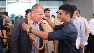 """Depois de """"aventuras"""" no Iraque e no Uzbequistão, Zico chega para ajudar a desenvolver o futebol da Índia"""