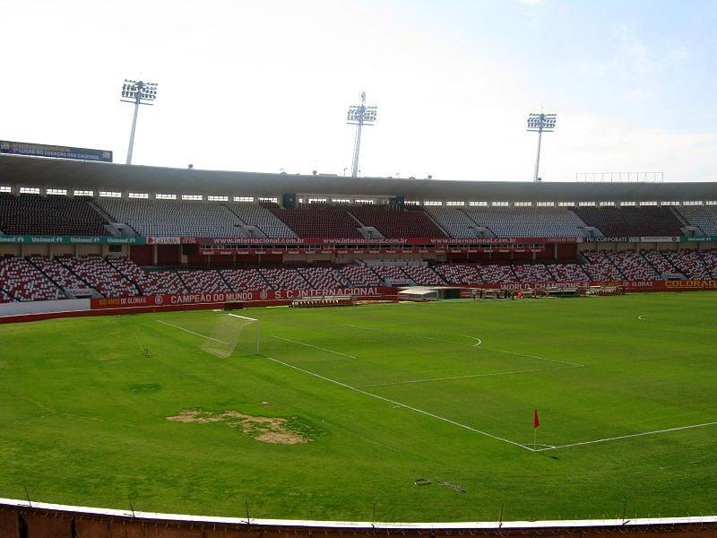 Beira-Rio, em Porto Alegre (RS)
