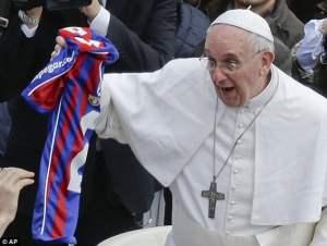 Auckland City quase estragou o aniversário do Papa