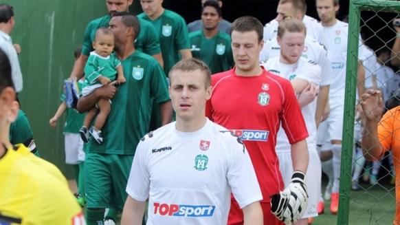 Zalgiris enfrentou o Gama e perdeu por 2-0