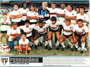 Time campeão estadual em 1988