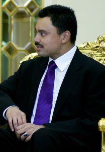 Príncipe Al-Muhtadee Billah, do DPMM FC (Crédito: Wikipédia)