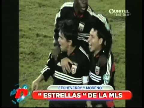 Moreno e Etcheverry - Dupla fez história na seleção boliviana e na MLS