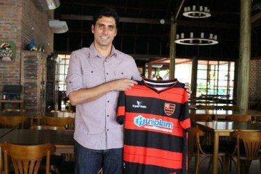Athirson como técnico do Flamengo-PI