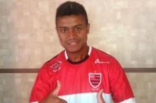 Adriano Gabiru no Tupi de Crissiumal
