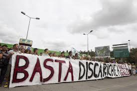 proteste discarica