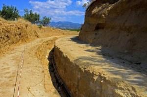 scavi tomba Alessandro Magno