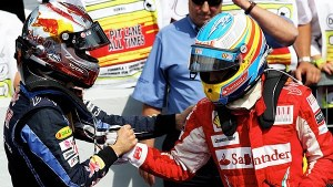 Alonso all'arrivo