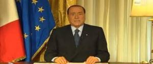 berlusconi messaggio tv