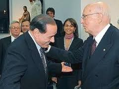 Berlusconi Napolitano