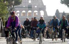Blocco della circolazione a Roma per auto e moto nella Fascia Verde, dalle 7.30 alle 12.30 e dalle 16.30 alle 20.30