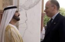 """Il Premier Letta negli Emirati arabi: """"sono ottimista, la crisi è ormai superata"""". Prima opportunità l'accordo Alitalia-Etihad"""