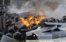 Kiev sarebbe in mano delle opposizioni. Si ignora la sorte del Presidente Yanukovich che avrebbe lasciato la capitale