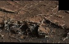 Foto Nasa: le vene minerarie sulla superficie di Marte