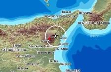Terremoto sull'Etna d'intensità 3,6