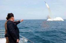 Corea del Nord testa con successo missile balistico sparato da sottomarino. C'era anche Kim Jong-un