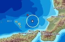 Forte scossa di terremoto, 4.5, alle Isole Lipari. Avvertita dalla popolazione