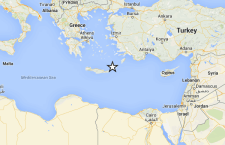 Forte terremoto, 5.4 di magnitudo, colpisce Isola di Creta