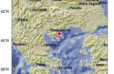 Terremoto in Grecia nei pressi di Salonicco. Intensità 4.4