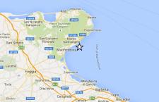Terremoto sulla costa del Gargano. Intensità 3.5