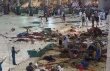La Mecca : crollo gru sulla Grande Moschea. 65 morti e 154 feriti