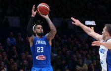Basket: Italia punisce duramente l'ostica Israele. 82 a 52