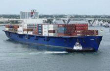 Caraibi: affonda alle Bahamas super porta container a causa di un uragano. 33 uomini a bordo