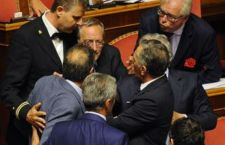 Dopo insulti e gestacci, il Senato approva l'art. 2 della legge di riforma. Il Pd si è riunificato su di un testo da studiare….