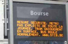Bruxelles : il Governo belga lascia il massimo livello di allerta. Città sotto assedio
