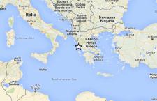 Grecia: continuano forti terremoti sulla  costa ionica. Ultimo di magnitudo 5.0