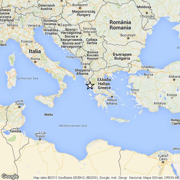 Cartina Puglia Grecia.Forte Terremoto Sulla Costa Della Grecia Paura In Puglia E Calabria Seguite Altre Scosse Ultima Edizione Eu