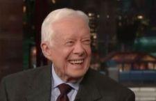 Jimmy Carter: scomparso il tumore dal suo cervello dopo la cura