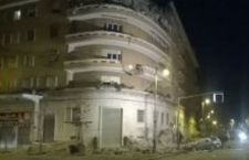 Miracolo a Roma: collassa palazzo sul Lungotevere. Fuggono in tempo. Nessun morto