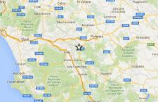 Terremoto in Provincia di Potenza senza danni