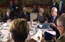 Libia: Italia pronta a fare la sua parte. Riunito Consiglio Supremo di Difesa. Un altolà anche ad alcuni paesi amici