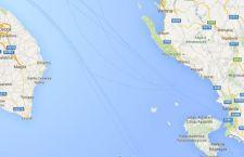 Terremoto sulla costa dell'  Albania di fronte alle Puglie