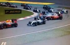 F1 in Cina: rivince Rosberg. Vettel secondo. Rimonta anche di Raikkonen dopo incidente