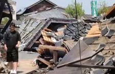 Terremoto in Giappone: altri 12 morti e dispersi sotto le macerie
