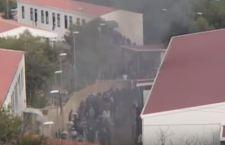 Lampedusa: in fiamme il Centro dei migranti
