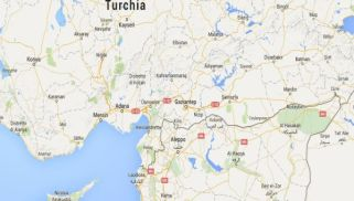 turchia siria map