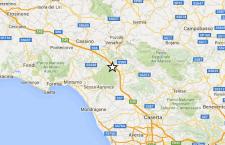 Terremoto spaventa Caserta e il basso Lazio