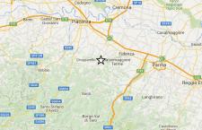 Terremoto  a Piacenza