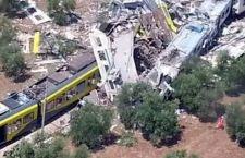 Puglia: strage ferroviaria. 11 morti e decine di feriti