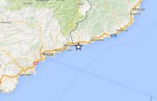 Liguria: terremoto tra Sanremo e Nizza