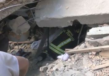 vigili del fuoco terremoto 1
