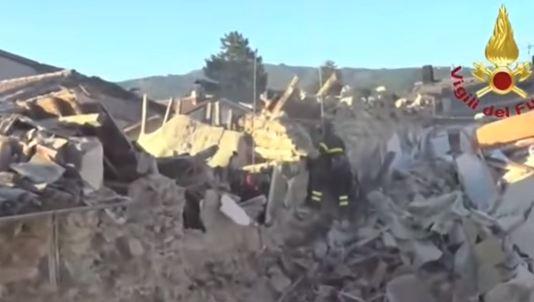 Terremoto ad Arquata