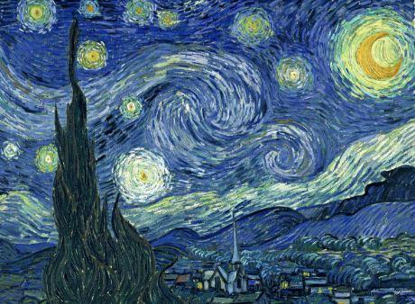 Notte stellata di V. Van Gogh