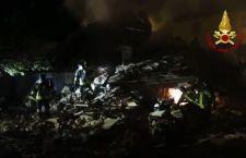 Firenze: crolla villetta. Morta donna. In salvo marito e due figlie piccole