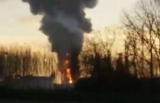 Pavia: esplosione in una delle più grandi raffinerie italiane